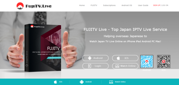 Watch Japanese anime online for free via FUJITV Live